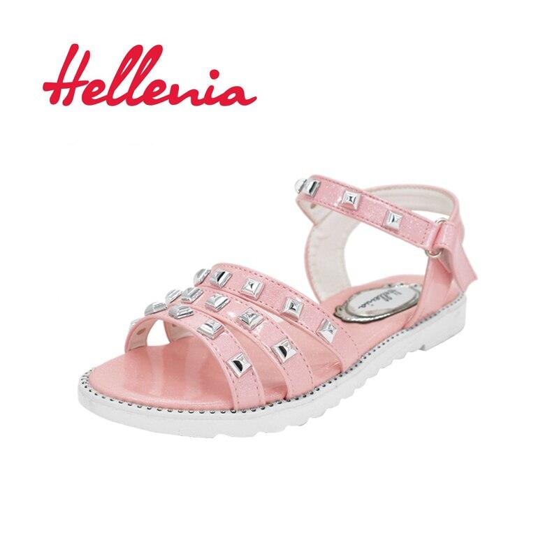 Helleniagirls Sandalen Zomer Kinder schoenen Lage hakken Feestjurk - Kinderschoenen - Foto 1