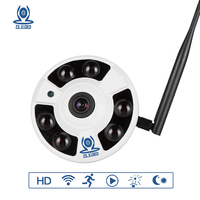 ZSVEDIO Surveillance Camera IP Camera Wi Fi 720P 960P 1080P 360 Degree VR Panorama IP Cameras
