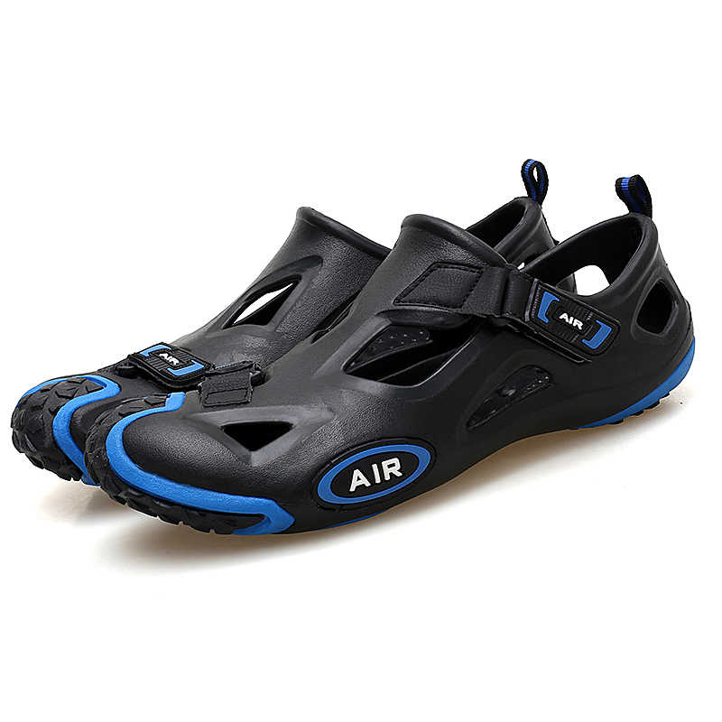 8cef2f14935f9b ... Outdoor Sport Women Water Aqua Shoes Breathable Rubber Anti-Slippery  Summer Beach Comfortable Sandals Shoes ...