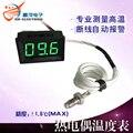 XH-B303 высокой температуры термометр 0-999 градусов, термопара, термометр 1000 отправить термопары цифровой дисплей