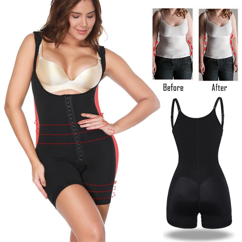 03839e1f79 Miss Moly Colombianas Body Shaper Slimming Underwear Women Ultra Modeling  Shapewear Faja Girdle Tummy Control Bodysuit Corset