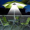 28LED зонтик Ночная лампа портативный сад зонтик полюс свет кемпинг палатка свет Открытый Патио двор зонтик полюс лампа