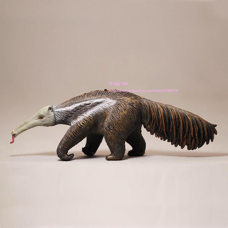 Ancient animal simulation Anteater Model Classic Toy Ferocious Beast Animal Model 16CM Action Toy Figures safari liopleurodon the most classic ancient creatures simulation animal toy dinosaur