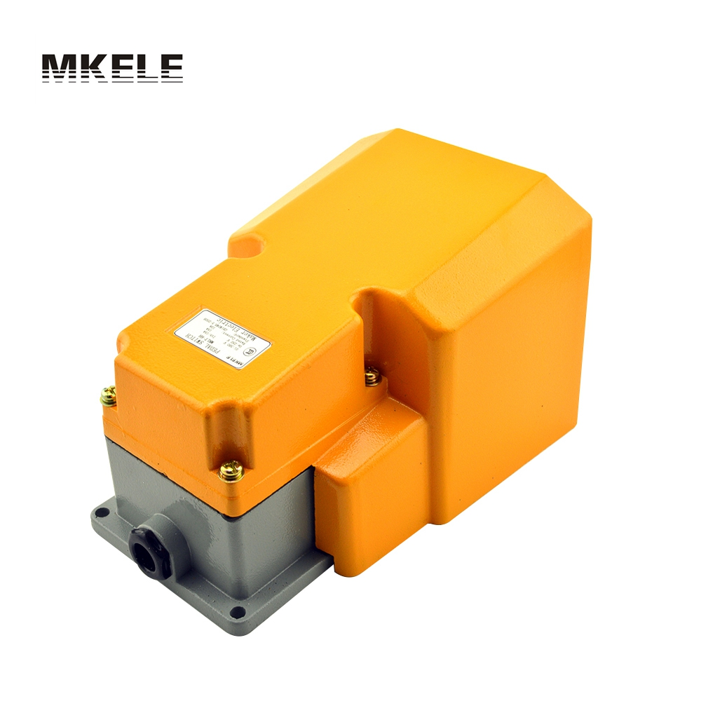 MKLT-6H Guard free shipping CNC metal alloy foot pedal switch, on-off Industrial heavy duty foot switch with CE certificate цена