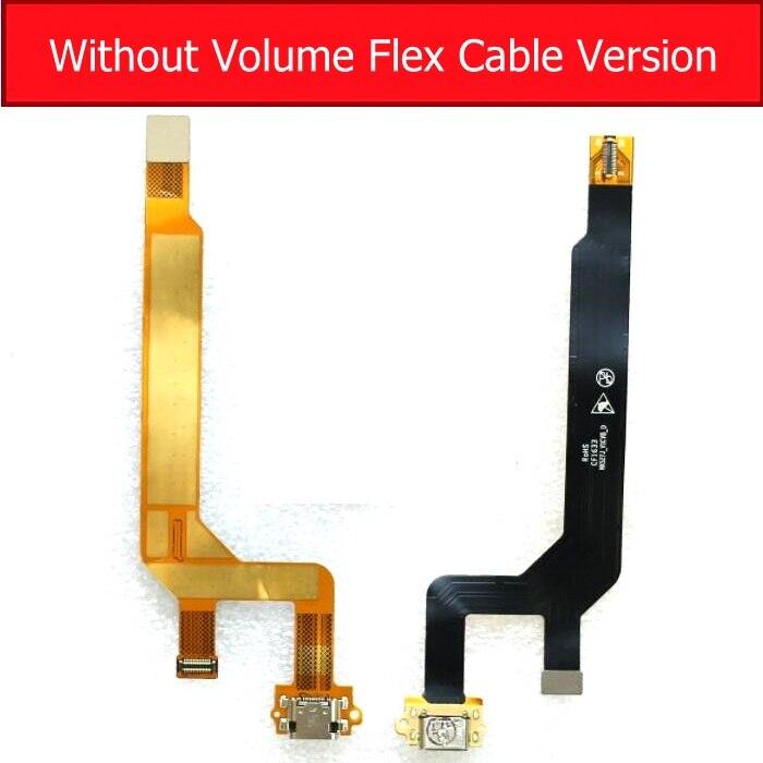 USB Lade Connector Flex Kabel Für ZTE NUBIA Z11 NX531J nx527j Volumen Flex Kabel & Ladegerät usb Port Flex Band reparatur Teile