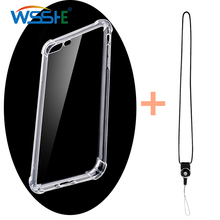 Cell Mobile Phone Camera Neck Lanyard With Transparent Case For iPhone 7 8 Xs Max X R 5 6 s Strap Case Detachable Lanyard strap цена 2017