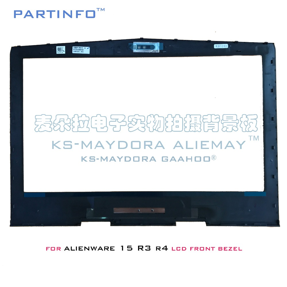 Brand new original laptop parts for DELL ALIENWARE 15 R3 R4 LCD front bezel R8C3M 0R8C3M hot sale replacement laptop battery for dell alienware 15 r3 alienware 17 r4 0546ff 0hf250 44t2r 9njm1 hf250 mg2yh