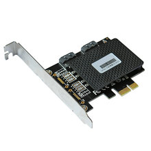 цена на 6Gbps PCI express PCIE  to 2 Port SATA 3.0 Expansion Controller card
