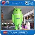 20FT Высокий Гигантские Рекламные Модели Надувные Робота Android Для Мобильных/Сотовых Телефонов Акции