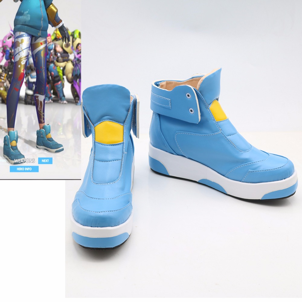 Custom Made Adult Game OW Cosplay Shoes Boots Accessories ...