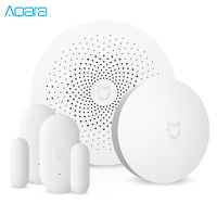 Xiaomi Mijia Aqara 3 In 1 Smart Home Security Set Match Multifunctional Gateway Remote Control Window