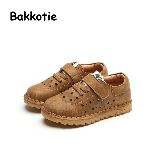 Bakkotie 2017 Spring Autumn Baby Boy Casual Toddler Sport Kid Brand Leisure Trainer Child Breathable Comfort Sneaker Soft Hollow
