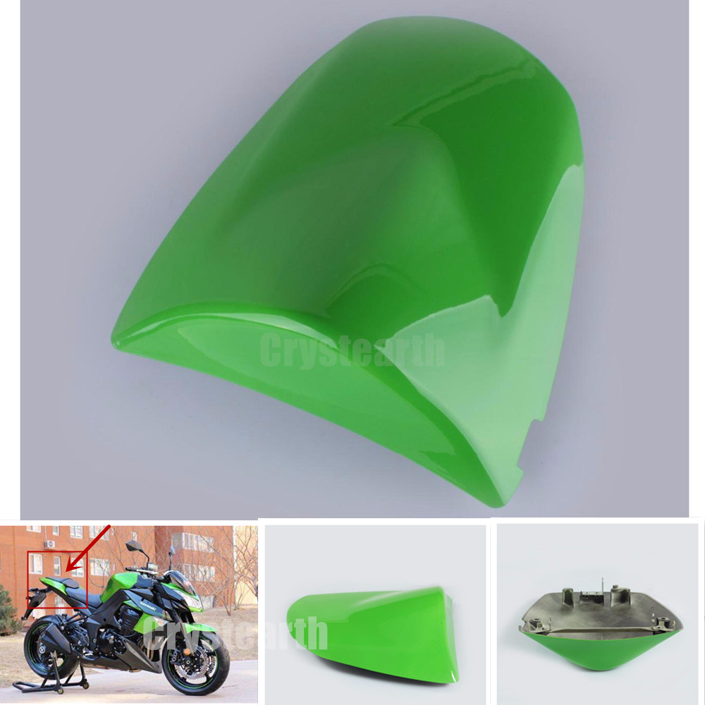 For Kawasaki Z750 Z1000 Z 750 1000 2003 2004 2005 2006 ZX6R ZX-6R ZX 6R 03 04 Green Motorcycle Rear Seat Cowl Fairing Cover for 2002 2005 kawasaki ninja zx9r zx 9r motorcycle rear passenger seat cover cowl black 01 02 03 04 05