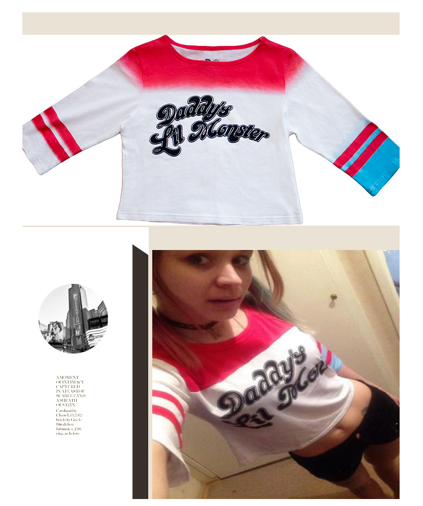 HTB13u3XPpXXXXXIapXXq6xXFXXXi - Batman Suicide Squad Haley Quinn Daddy's Lil Manster T-shirt PTC 129
