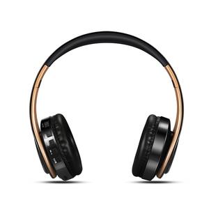 Image 2 - ファッション折りたたみ耳ワイヤレスイヤホンヘッドセットステレオイヤホンと 3.5 ミリメートル接続ポート電話の dj mp3 スポーツイヤホン
