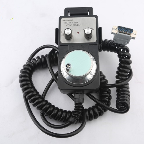 Engraving Machine Wired Electronic Handwheel CNC System Pulse Generator CNC Machine CNC Hand Wheel 15 - Pin Connector