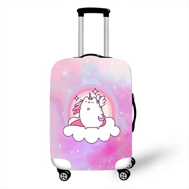 Pink Unicorn Luggage Protective Covers