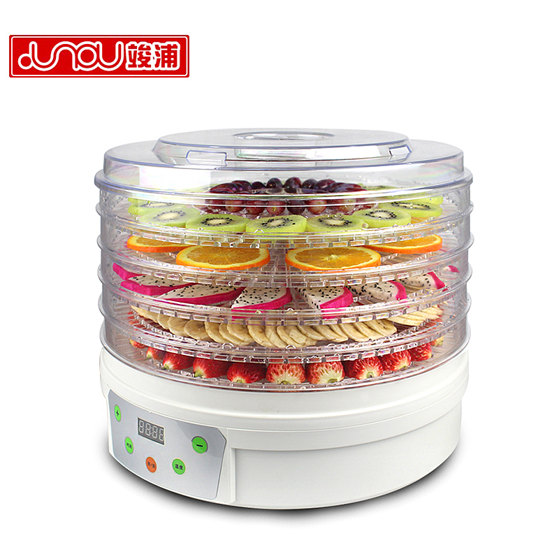 все цены на Dried Fruit Machine Home Food Dehydration Fruit Vegetables Food Dryer Smart Version Fast Strong Health Efficient Dehydrator онлайн
