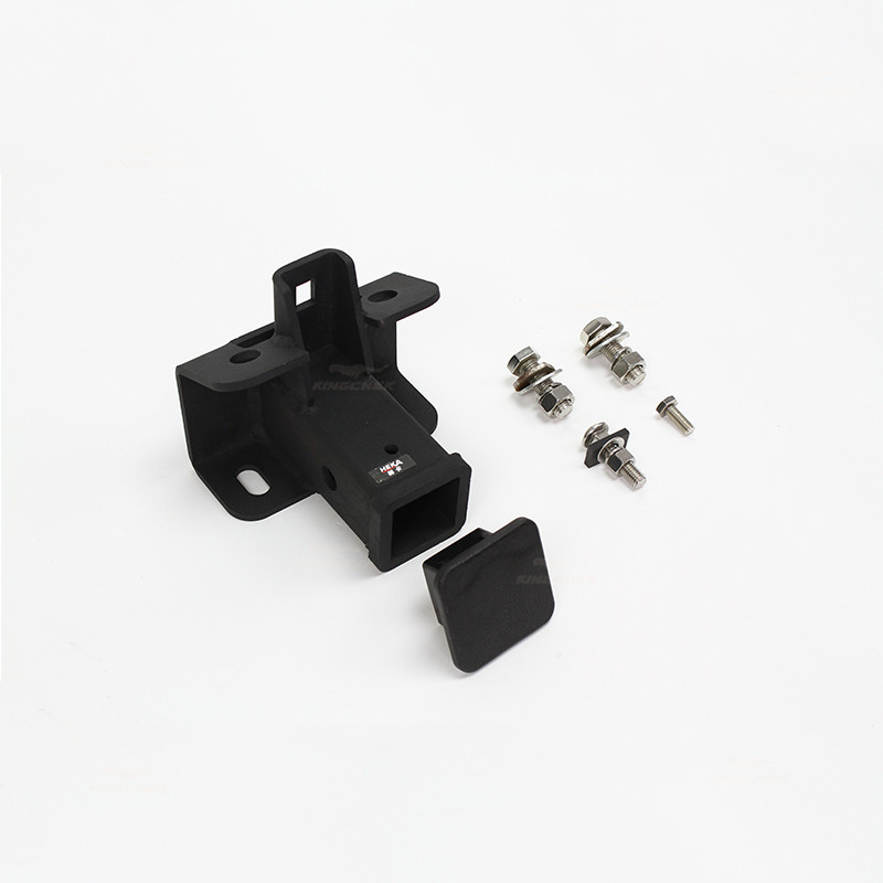 Trailer Tow Hitch Receiver Mount Hitch With Rubber Cover