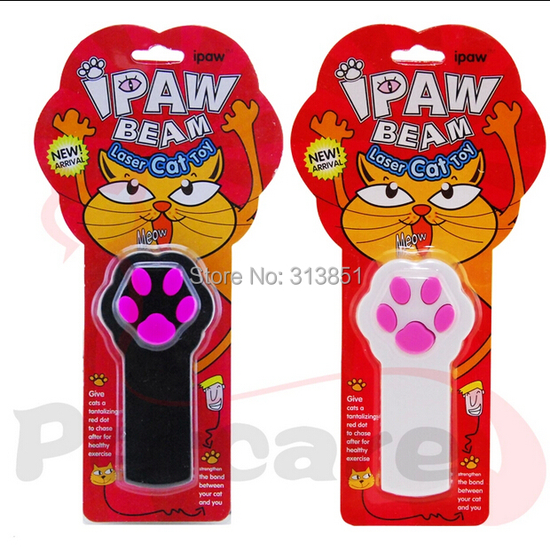10PCS/LOT The Second-generation Upgrade Laser IPAW BEAM Cat Toy Dog Toy Laser Pointer Cat Training Toys Laser Cat Stick Funny