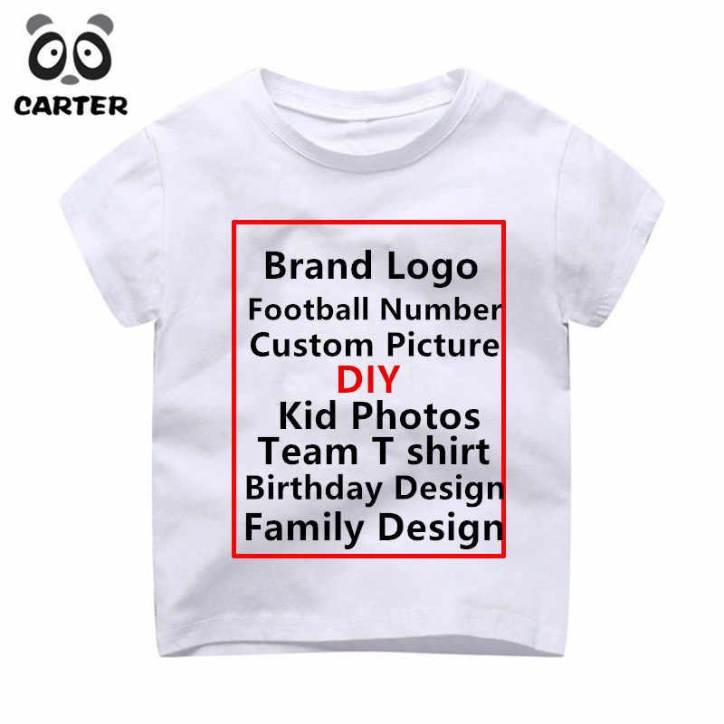 Detail Feedback Questions About Children Custom T Shirt Kid Print Brand Logo Shirts Baby Birthday Kids BoysGirls DIY Tee On