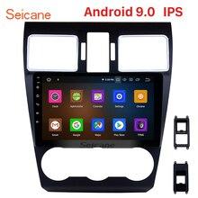 Seicane Android 9,0 IPS 2.5D Radio, navegación GPS para coche reproductor Multimedia para Subaru WRX forester 2014-2016 Control de volante