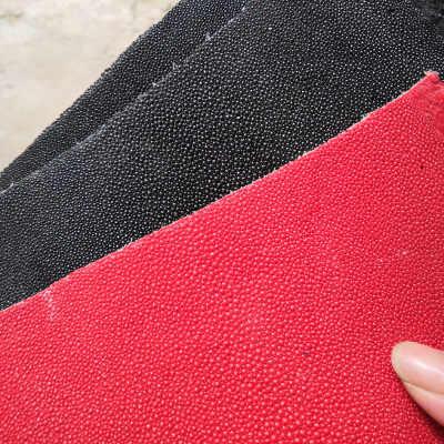 Orijinal Stingray Doğal Manta Ray Balık Cilt Deri El Sanatları DIY Deri El Sanatları Saat Kayışı bıçak sapı Malzeme 13.5x7 cm