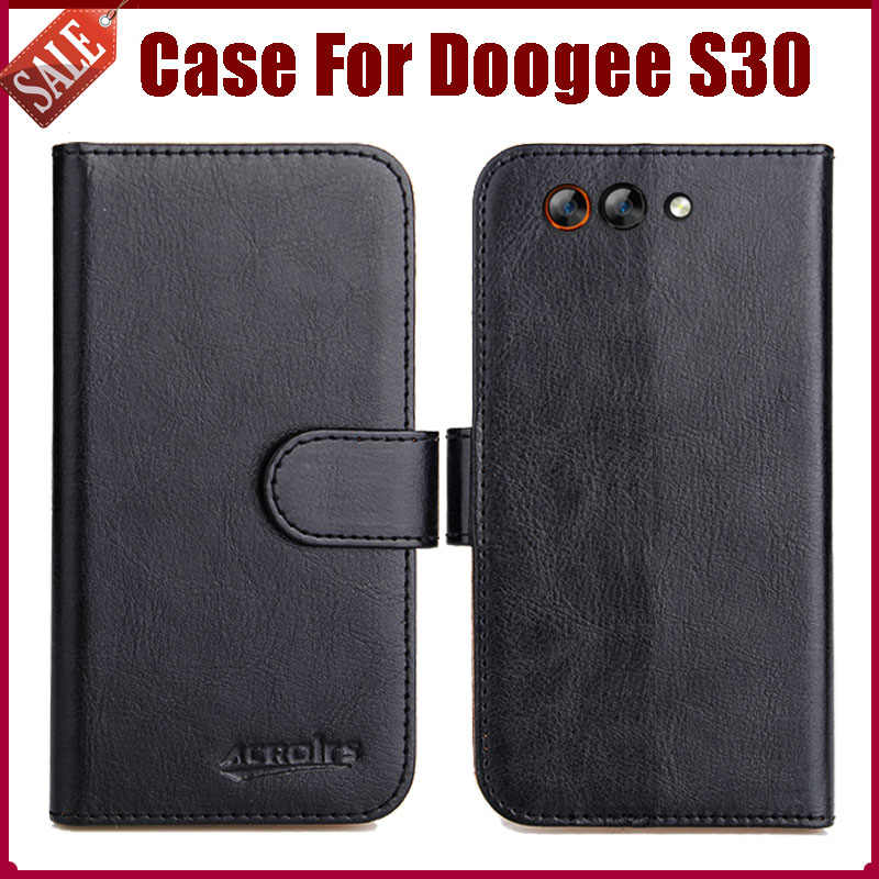 Hot Sale! Doogee S30 Case New Arrival 6 Colors High Quality Flip Leather Protective Phone Cover For Doogee S30 Case