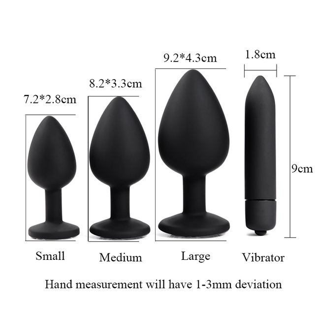 Adult Diary Silicone Anal Plug Jewelry Dildo Vibrator Sex Toys for Woman Prostate Massager Bullet Vibrador Butt Plug For Men Gay 5
