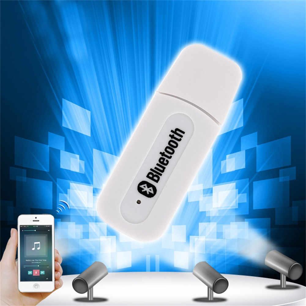 Bluetooth 2.1 sans fil 3.5mm stéréo Audio récepteur de musique adaptateur de haut-parleur AUX de voiture pour haut-parleur PC pour iPhone pour iPad iPod
