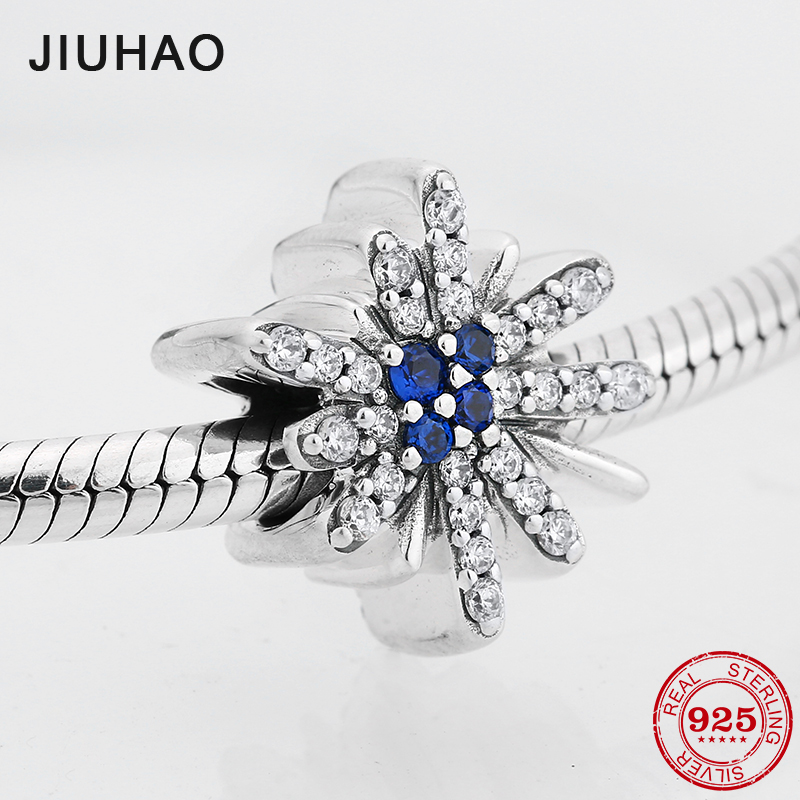 Zoudky New 100% 925 Sterling Silver Dazzling Fireworks Charm Original Womens Jewelry Suitable Charming Fashion Gift Jewelry & Accessories Beads & Jewelry Making