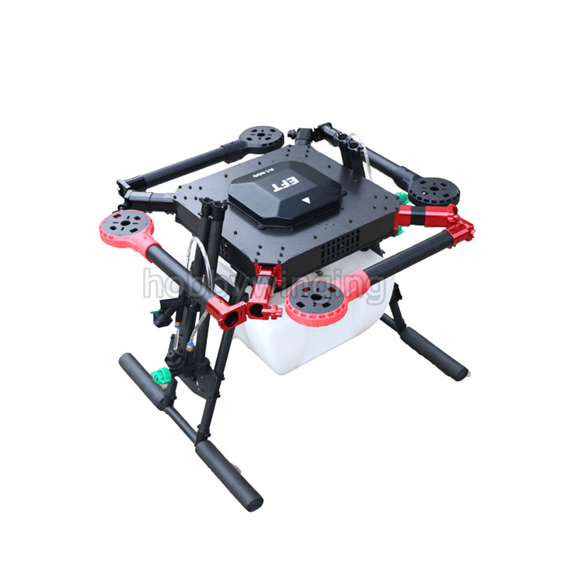 4-axis Spray pump Agriculture drone w/ 10KG/10L spraying gimbal system 1300mm Wheelbase Folding UAV Quadcopter eft diy 10l agriculture spray quadcopter drone 1300mm annular folding pure carbon fiber frame model a and model b