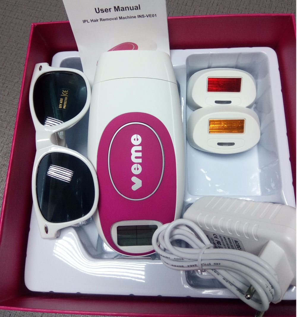 3 in 1 New Depilador 300 000 Flashes Laser Permanent Hair Removal Laser Epilator Home Epilator
