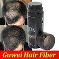 Toppik hair building fibers botella de spray en polvo 27.5g negro, marrón oscuro 9 colores en la acción
