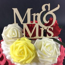 SD-477 Free Shipping Kids Favors Party Decoration Foods picks wedding paper cup cake toppers mr & mrs