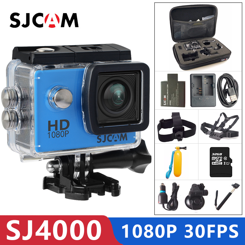 SJCAM SJ4000 Action Camera Sports DV 1080P Full HD 2.0 Inch Screen Diving 30m Waterproof Mini Camcorder Original SJ 4000 Cam