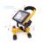 2016 Nova 3 PCS 18650 Bateria + O Melhor 2400Lm Luz Portátil Recarregável do Diodo Emissor de luz