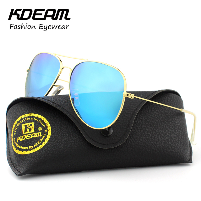 9bd4ed96e1 Air Force Pilot Eyewear 62  Polarized Sunglasses Men Icon Street Man Sun  Glasses With Brand Leather Case gafas
