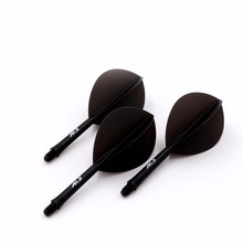 CUESOUL Integrated Dart Shaft and Flights Pear-Teardrop Shape,Set of 3 pcs