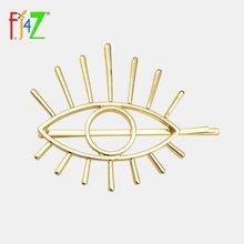 Fj4z 2020 тренд заколки для волос большой глаз модные забавные