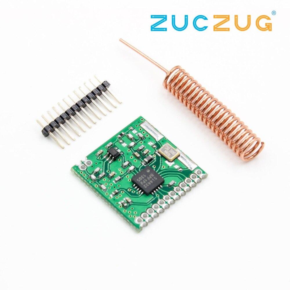 470MHz 1000m SI4432 Wireless Module 470M 433mhz Wireless Communication Module