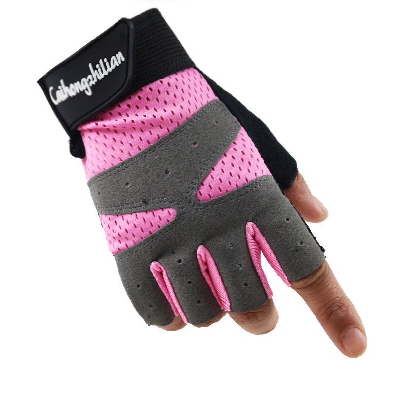 Women Fitness Fingerless Gloves Sport Cycling Driving Riding Fishing Gloves Tactical Half Finger Gloves Black Guantes
