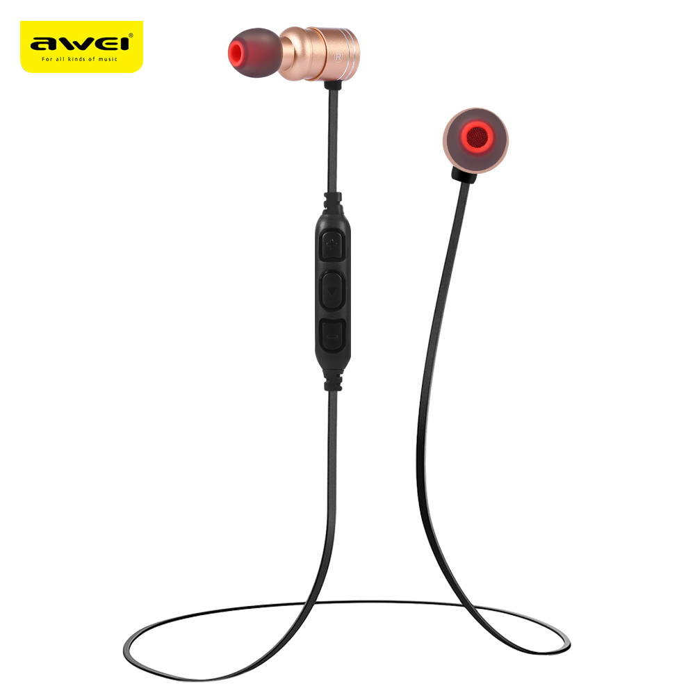 Awei AK7 Sport Wireless Bluetooth Earphone Stereo Earphone With Microphone Sweatproof Bass Headset For Earbuds With Bluetooth4.1