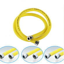 1/2 Stainless Steel Gas Pipe Natural Gas Pipe Water Heater Accessories Can Be Buried Mmetal Corrugated Hose