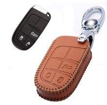 Высокое качество! особый случай ключи от машины для Fiat Freemont 2016-2012 хорошо кожаный чехол автомобиль ключ для Freemont 2014, Бесплатная доставка