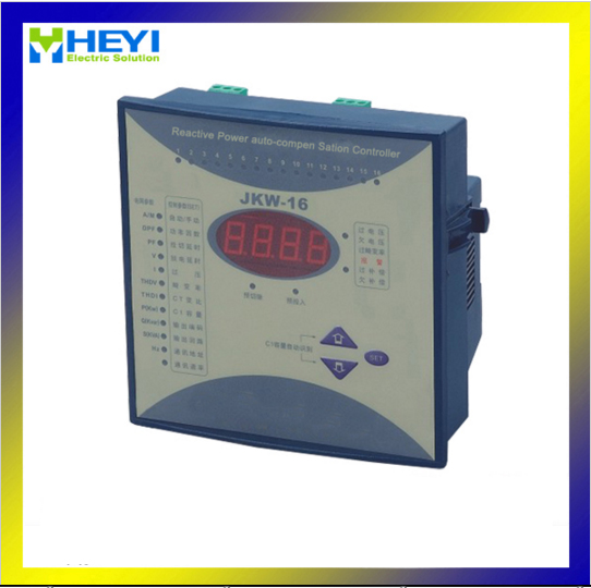 JKW-16 RPCF power regulator compensation digital power factor meter 12step 380v Reactive power automatic compensation controller весы jkw 40 x 10 g dps1