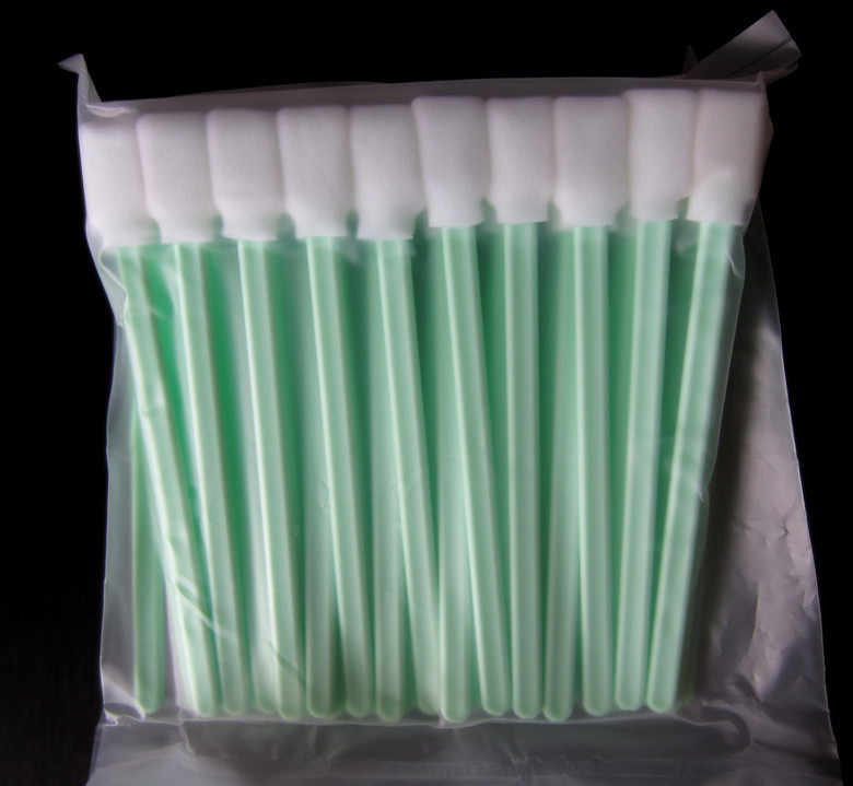 Pack of 50-Busa cleaning sponge sticks penyeka untuk Roland VersaArt RS-540 RS-640 Roland Versacamm VS-300 VS-420 VS-540 VS-640