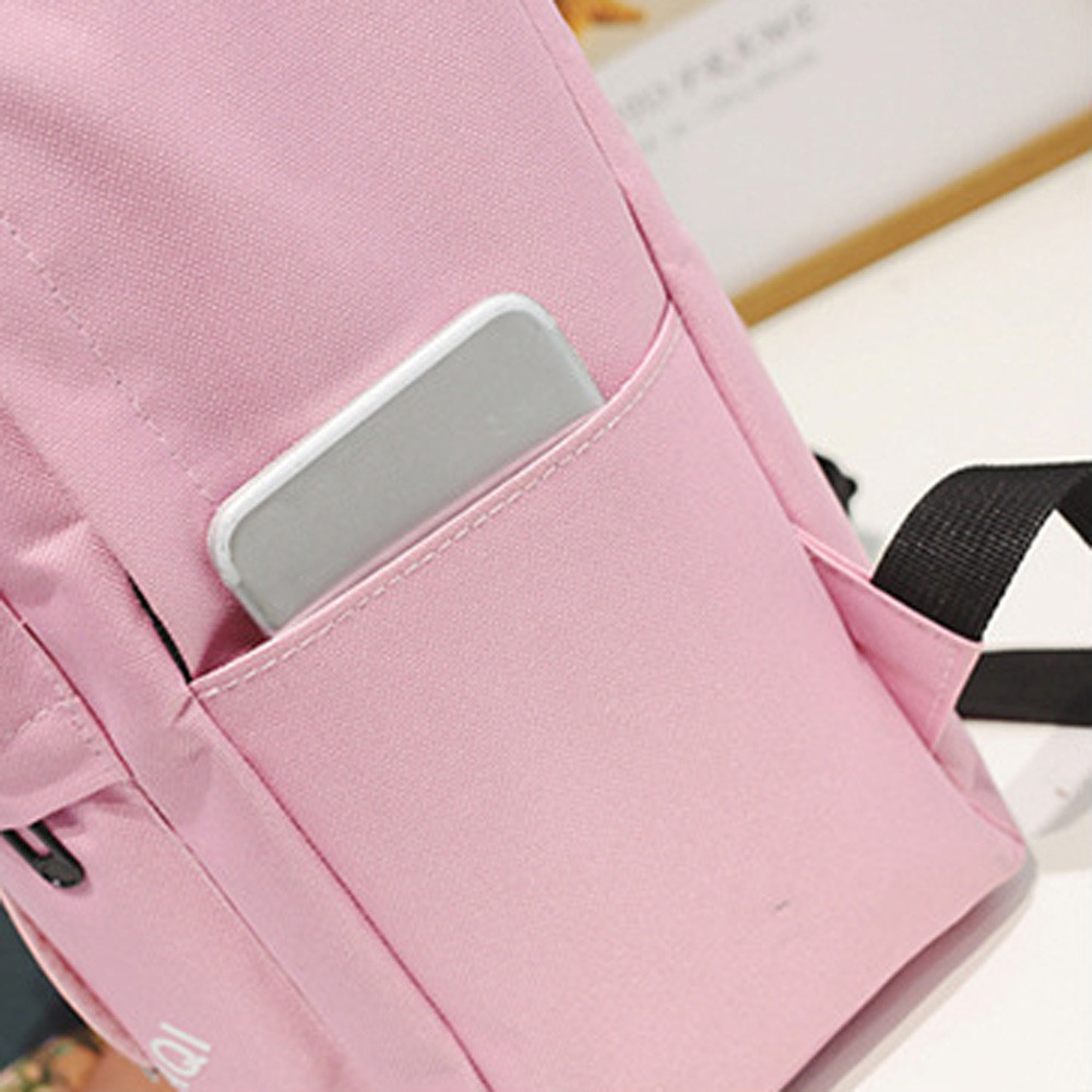 Canvas Backpack School Bag For Girls Rucksack Design Backpacks School Bags Travel