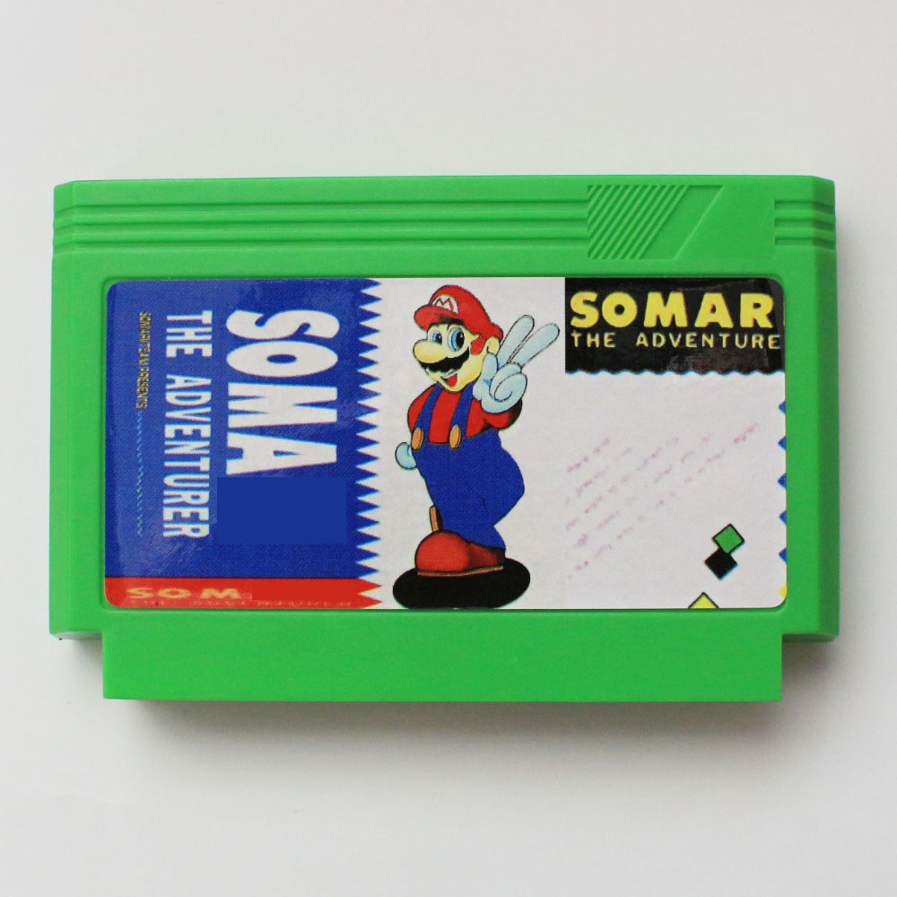 Soma the advernture  60 Pin Game Card For 8 Bit Subor Game PlayerSoma the advernture  60 Pin Game Card For 8 Bit Subor Game Player