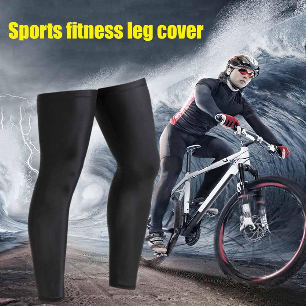 Men Women Compression Cycling Leg Warmers Sport Safety Running Legging Basketball Tight Sportswear XR-Hot Legwarmers